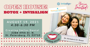 Don't Miss Our Botox and Invisalign Cosmetic Open House